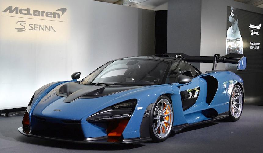 マクラーレンの最新マシン「セナ」が日本初上陸|McLaren