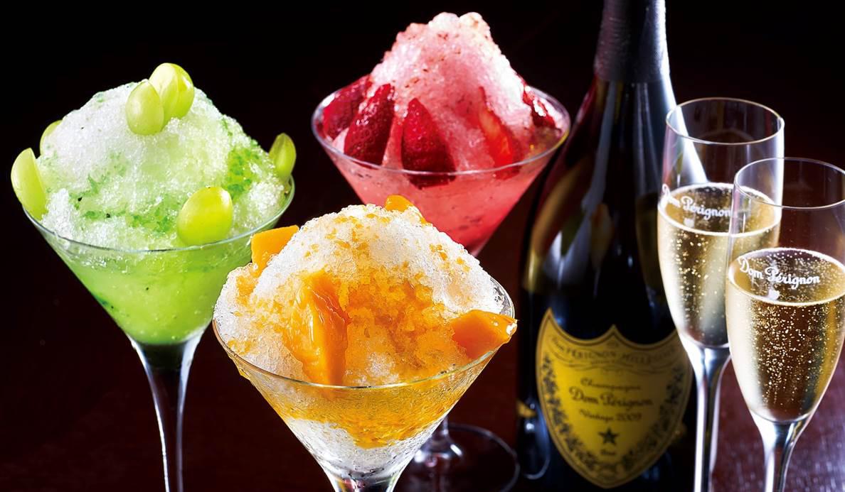 EAT|かぐわしい香り、芳醇な味わい。「ドン・ペリニヨンのかき氷」