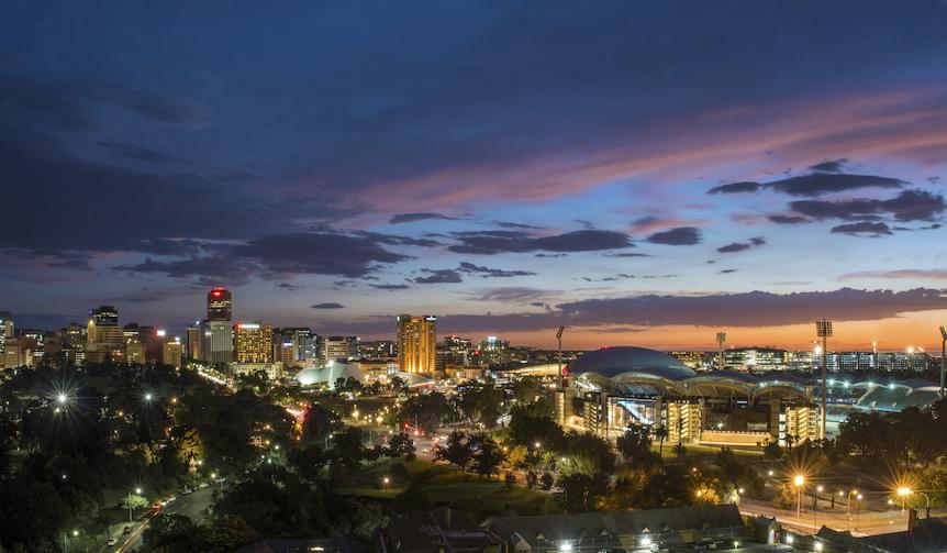Skyline, Adelaide, SA © South Australian Tourism Commission