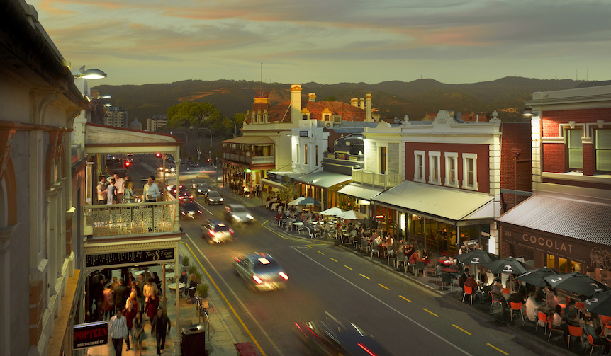 Rundle Street, Adelaide, SA©  South Australian Tourism Commission