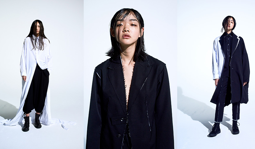 Yohji Yamamoto|ヨウジヤマモトの新ライン「B Yohji Yamamoto」の2018年秋冬コレクション