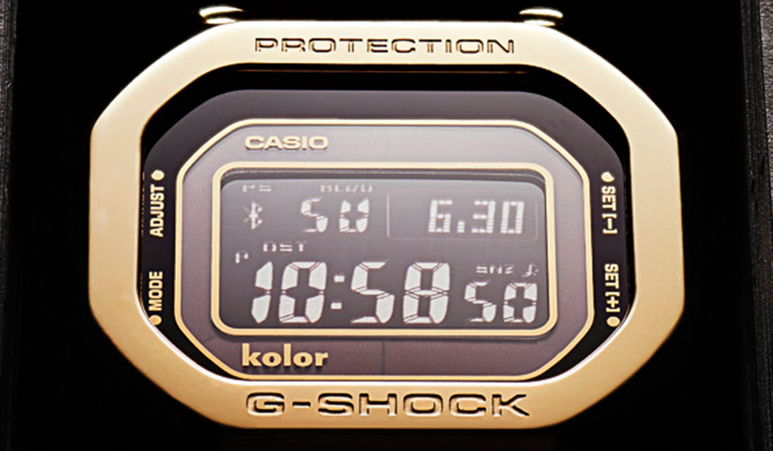 CASIO|KolorとG-SHOCKのコラボレーションモデルが限定700本でリリース
