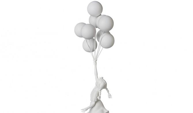 MEDICOM TOY|Flying Balloons Girl