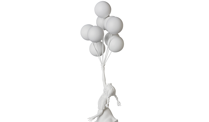 MEDICOM TOY|Flying Balloons Girl