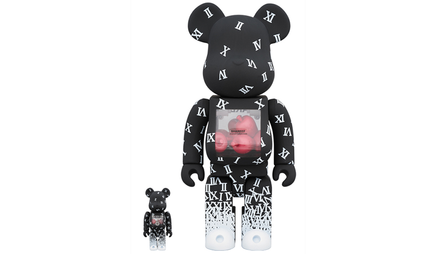 MEDICOM TOY|BE@RBRICK SHAREEF 100% & 400%