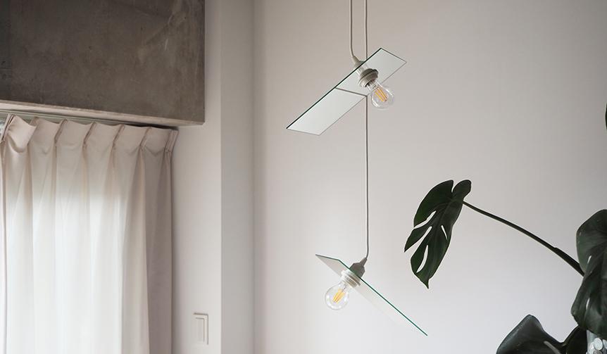 Airconditioned|照明効率とデザイン性の高さ。斬新な発想が生んだ「鏡像の照明」
