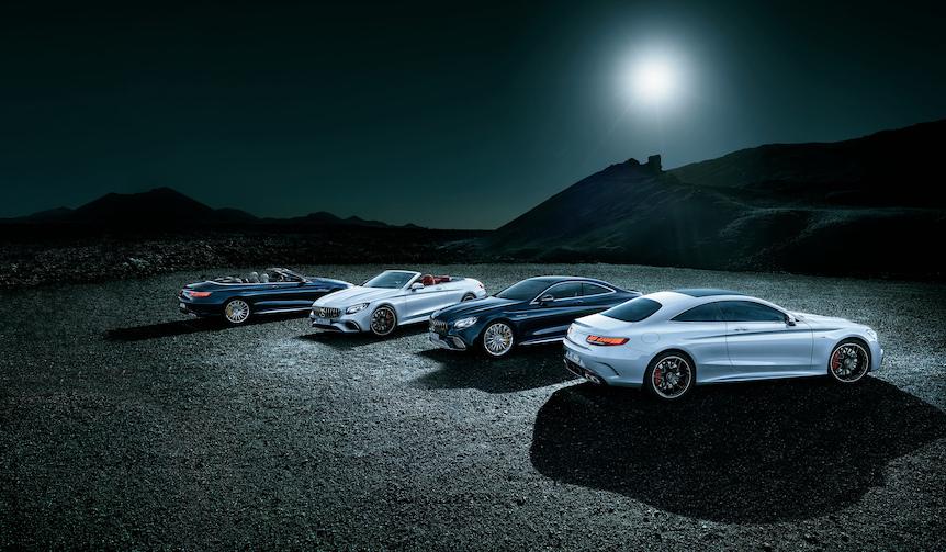 新しくなったメルセデスSクラス クーペ カブリオレを販売開始|Mercedes-Benz