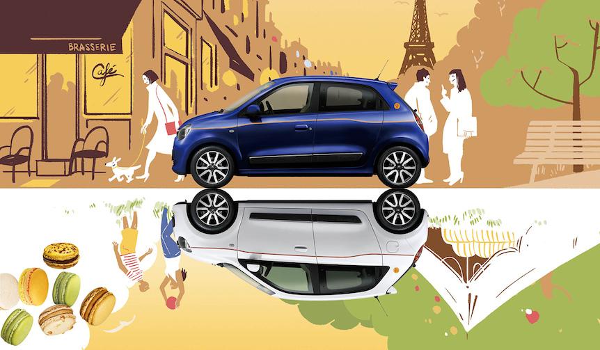 ピエール・エルメ・パリとコラボレーションした限定車 Renault