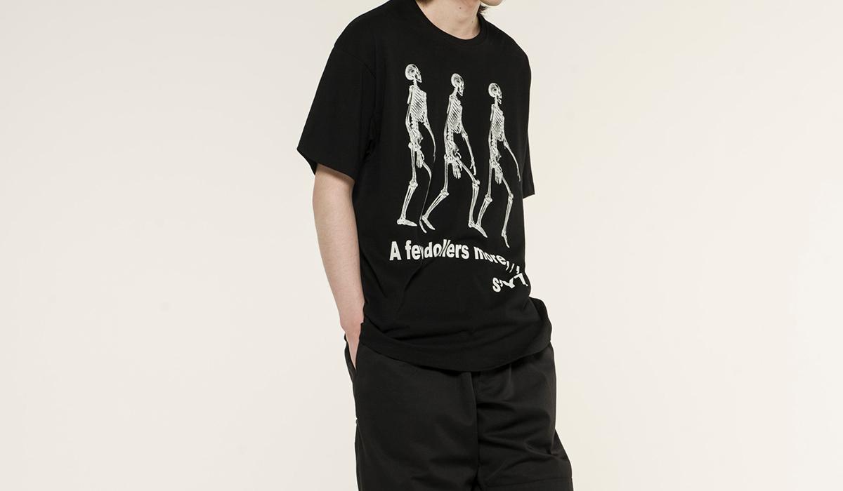 Yohji Yamamoto ヨウジヤマモトのTシャツコレクション「S'YTE GRAPHIC T COLLECTION」