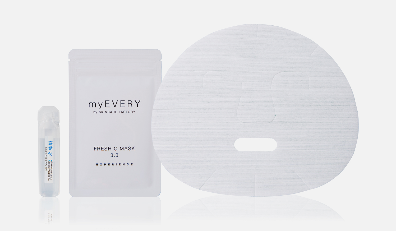 SKINCARE FACTORY|フレッシュなビタミンCをダイレクトに届けるフェイスマスク