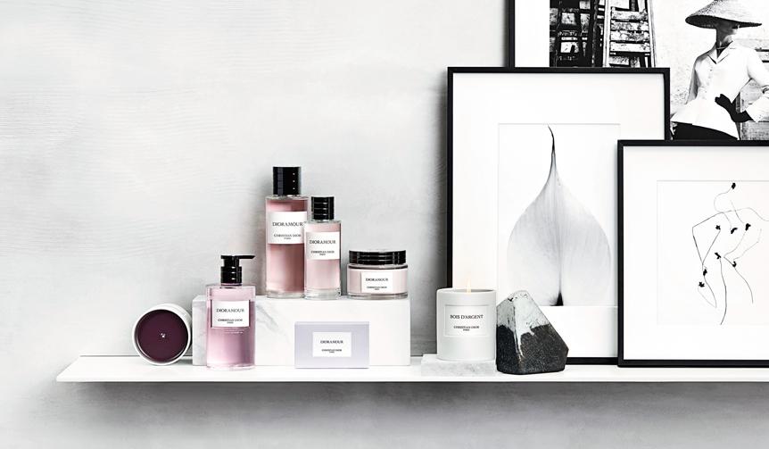 Dior|上質なライフスタイルを提案するディオールのフレグランスコレクション