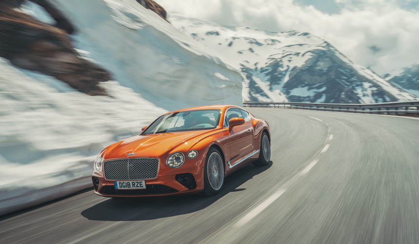 Bentley|新型ベントレー・コンチネンタルGTに試乗