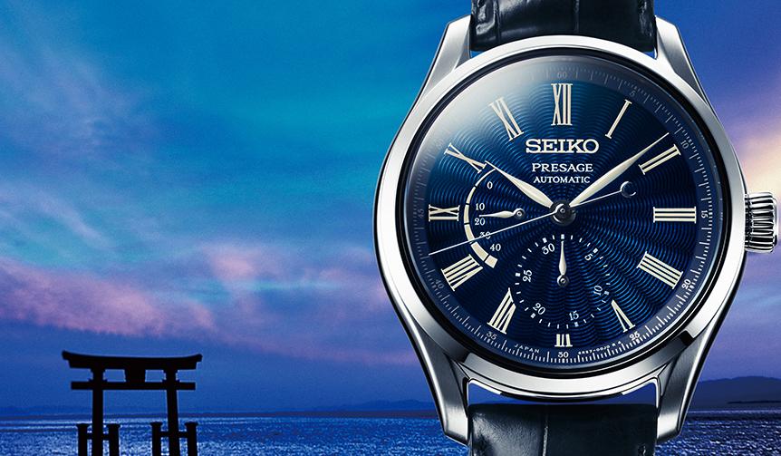 SEIKO|海を想わせる透明感が魅力。七宝ダイヤルを搭載したプレザージュ数量限定モデル