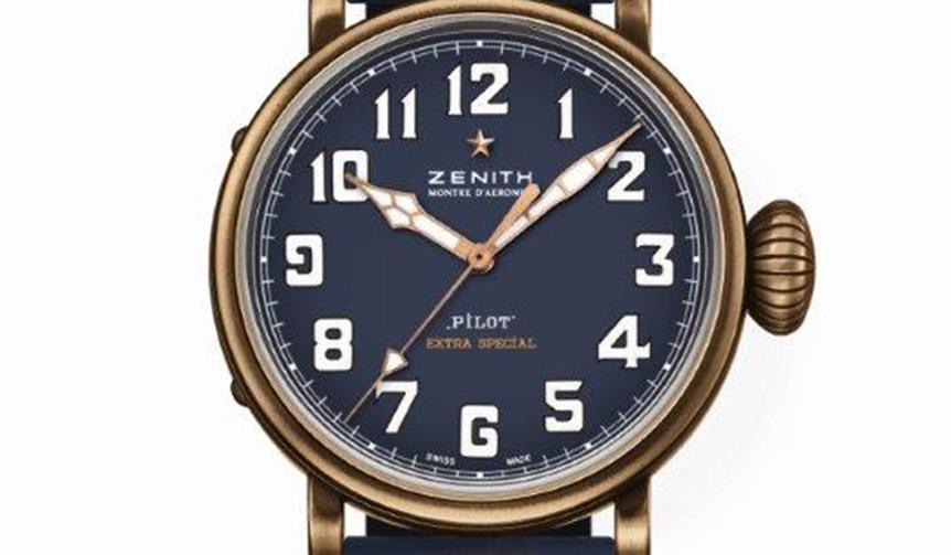 ZENITH|ゼニスの人気PILOT WATCHコレクションにブロンズモデルがラインナップ