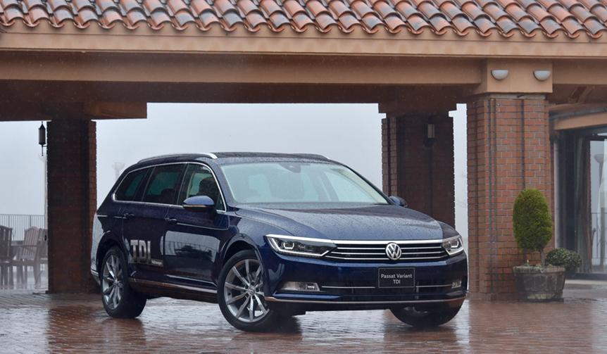 「パサート ヴァリアントTDI」に試乗|Volkswagen