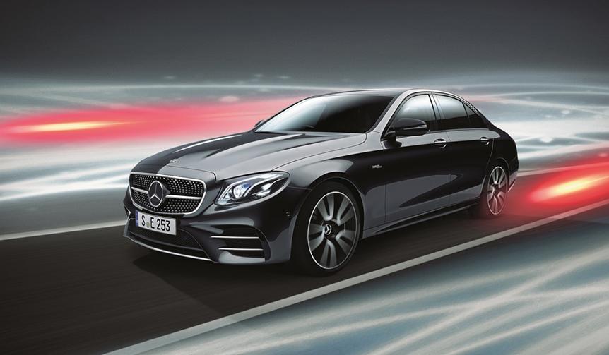 Eクラスの一部改良モデルを発売|Mercedes-Benz