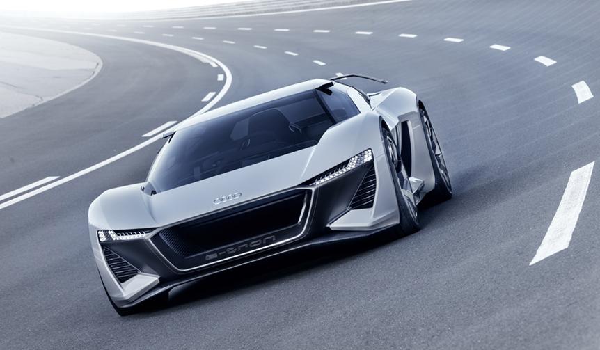 アウディ、EVコンセプトカー「PB18 eトロン」を初披露|Audi