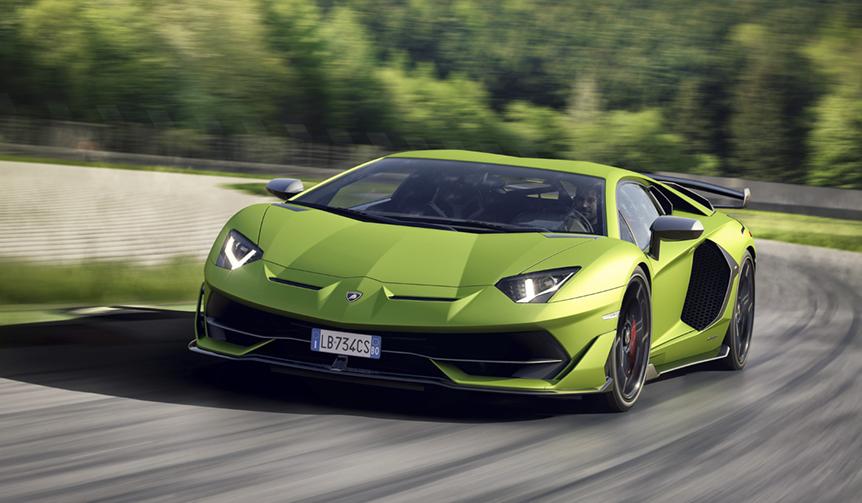 ランボルギーニV12の頂点、アヴェンタドールSVJ登場|Lamborghini