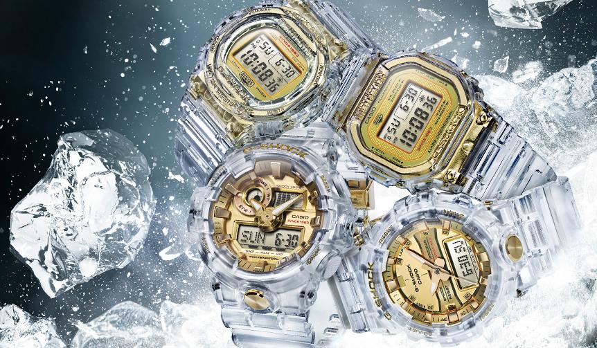 CASIO|クリアスケルトンがゴールドカラーを引き立たせるG-SHOCK限定モデル