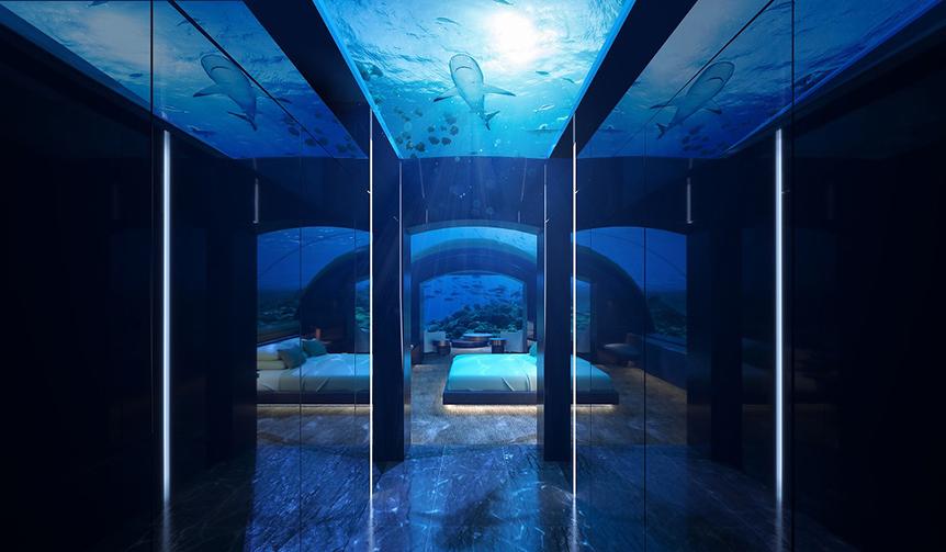 Conrad Maldives Rangali Island|モルディブに誕生した世界初の水中レジデンス