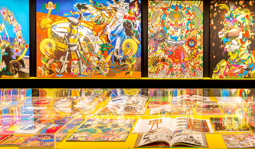 ART 鬼才・田名網敬一の作品を網羅。「田名網敬一の現在 -Keiichi Tanaami Dialogue」展