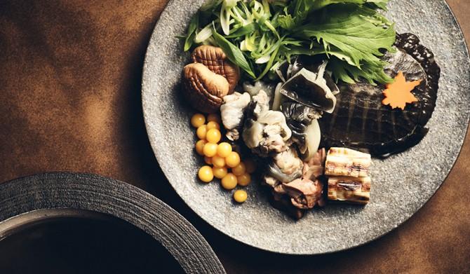 CONRAD TOKYO|日本料理「風花」にて、美食の秋を代表する「すっぽんづくしコース」を