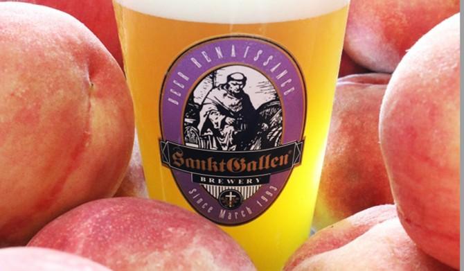 Sankt Gallen Brewery|樽生限定! クラフトビール「7種の桃のエール」