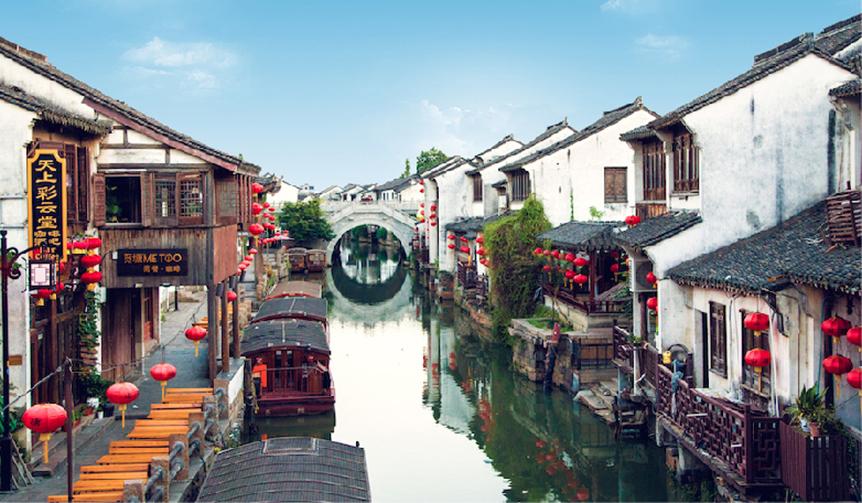 東洋のヴェニス、豊かな水の都・蘇州で時間旅行