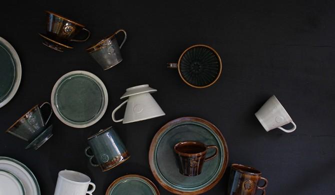 MISHIM POTTERY CREATION|ドリップコーヒーをテーマにした陶器シリーズ