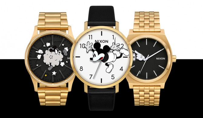 NIXON|ミッキーマウス生誕90周年を祝した、プレイフルなコレクション