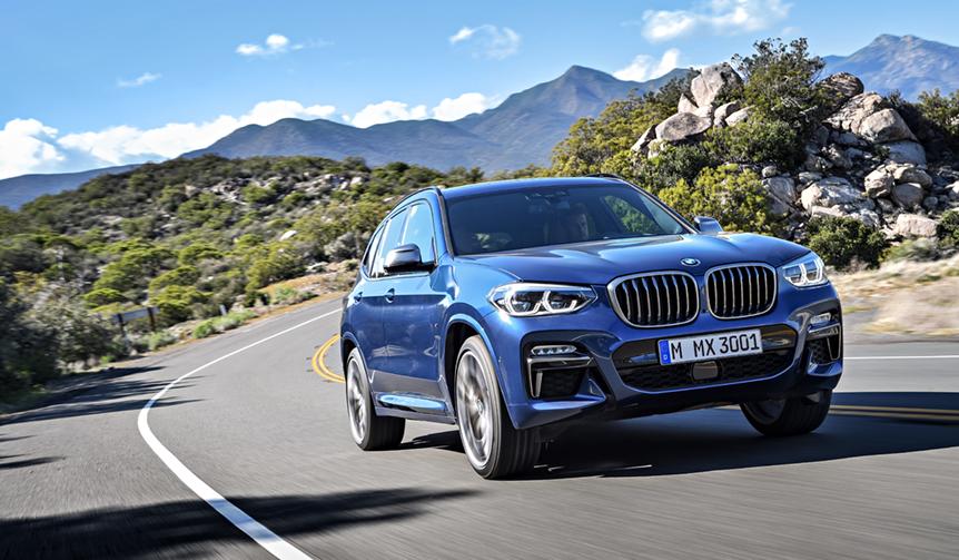 BMW X3にディーゼルモデルのMパフォーマンスに追加 BMW