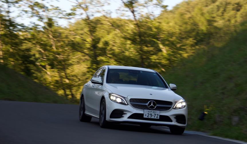 マイナーチェンジしたメルセデス・ベンツCクラスに試乗|Mercedes-Benz