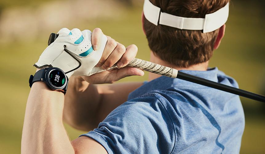 Galaxy|ゴルフに最適化されたスマートウオッチ「Galaxy Gear S3 frontier Golf edition」