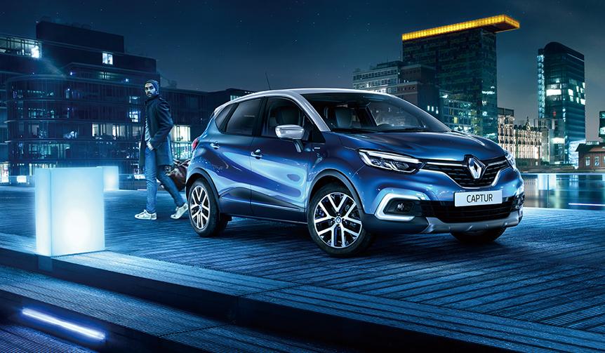 スポーティなブルー×グレーのキャプチャー限定車|Renault