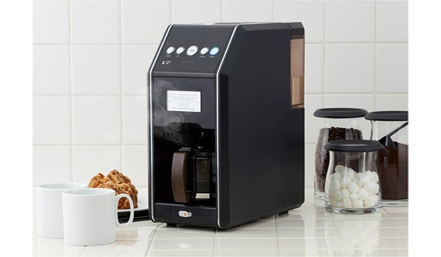 Toffy|挽きの粗さは4段階から選択。本格的な挽きたてコーヒーが全自動で