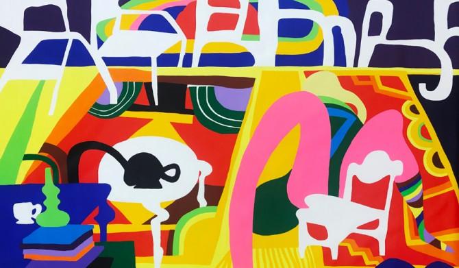 ART|室内を描いた新作を含むトッド・ジェームスの個展、渋谷NANZUKAで開催