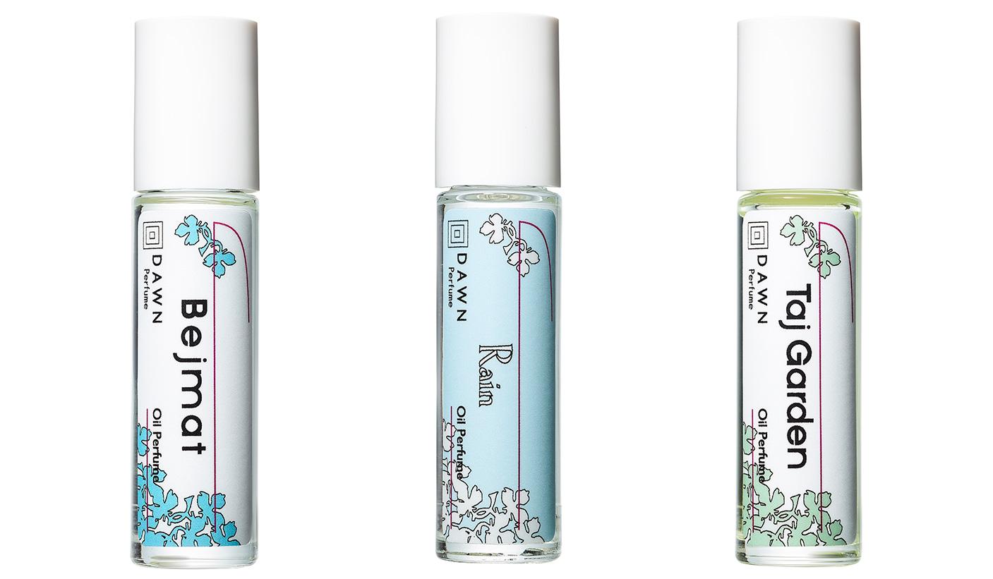 DAWN  Perfume|人気の3種類の香りが、持ち運べるアイテムとなって新登場