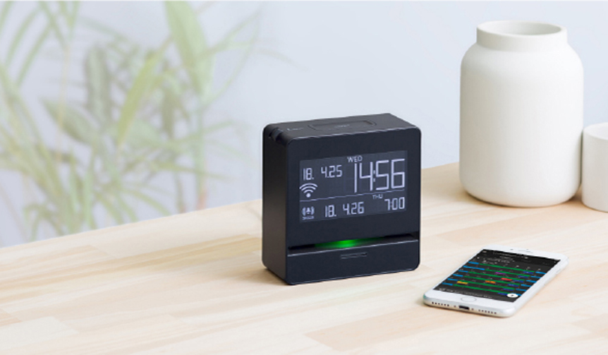 KINGJIM|音声で予定をお知らせ。Googleカレンダーにも対応するデジタル時計