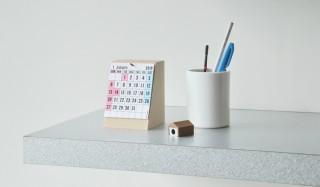 卓上タイプはマイナーチェンジも。毎年恒例の活版印刷カレンダー PAPIER LABO.