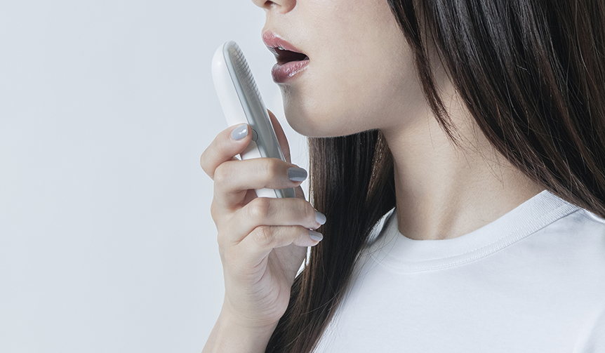 KONICA MINOLTA|汗臭、脂臭に加え、口内のニオイも可視化するセルフケアアイテム