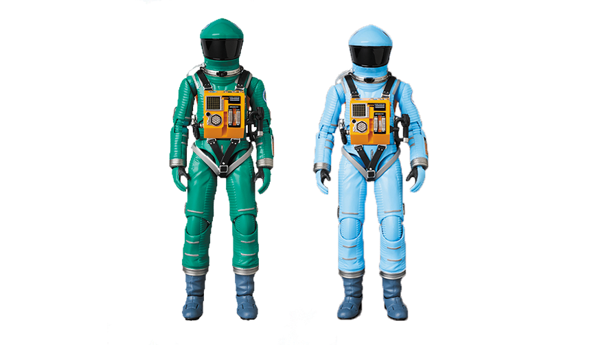 MEDICOM TOY|MAFEX SPACE SUIT GREEN Ver. / LIGHT BLUE Ver.