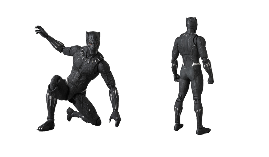 MEDICOM TOY|MAFEX BLACK PANTHER