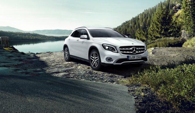 悪路走破力アップの特別仕様「GLAオフロードエディション」を限定発売|Mercedes-Benz