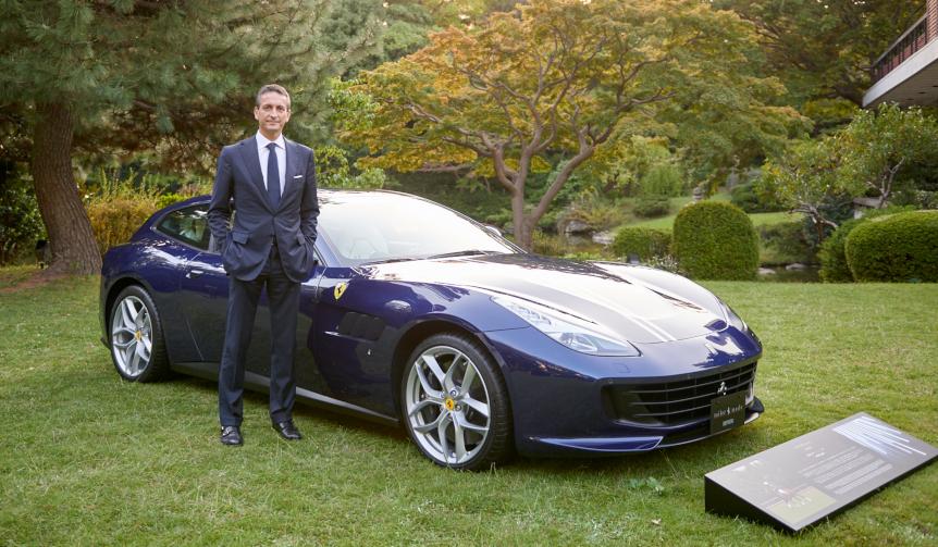 フェラーリのマーケティング&コマーシャル部門最高責任者にインタビュー|Ferrari