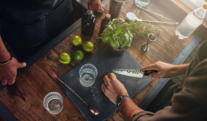 Minova Ceramic Jewel Knives|人前で切って見せたくなる! ジュエリーテーブルナイフ