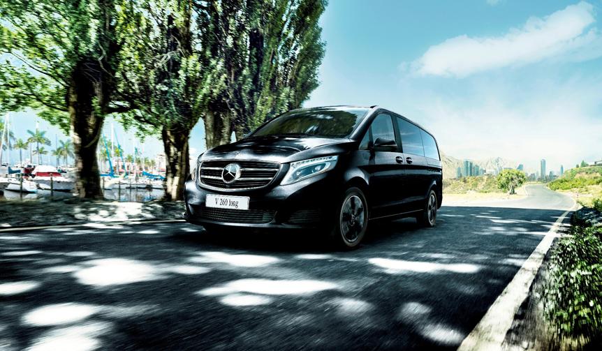 現行Vクラスに初のガソリンモデル|Mercedes-Benz