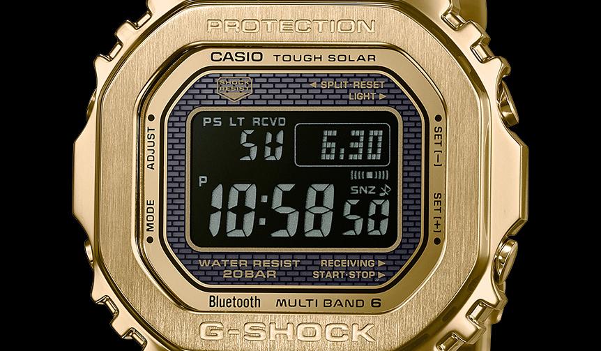 CASIO|大人のフルメタルG-SHOCK「GMW-B5000」に、反転液晶の2モデルが登場