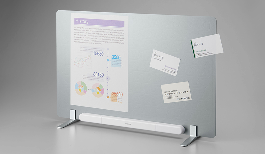 KING JIM|静電気の力で紙を吸着する掲示板「ラッケージ」。新たな2タイプが発売