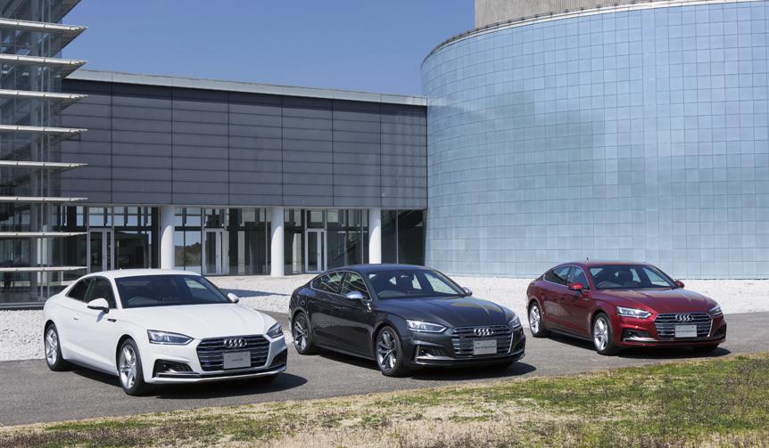 アウディ、装備充実のA5/S5/RS5登場|Audi