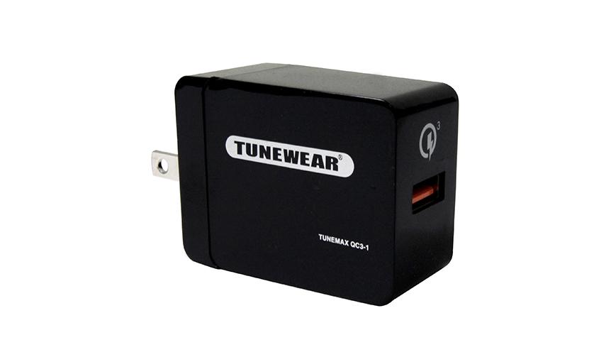 TUNEWEAR|最大4倍!スマートフォンを急速充電する小型電源アダプタが発売